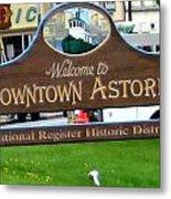 Astoria Oregon Metal Print