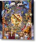 Astrology Metal Print by Ciro Marchetti