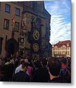 Astronomocal Clock Of Prague II Metal Print