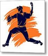 Astros Shadow Player2 Metal Print