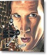 Doctor Who - Asylum Of The Daleks Metal Print