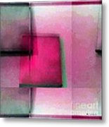 Asymmetrical Symmetry Metal Print
