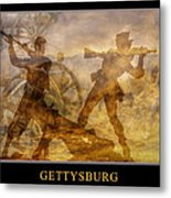 At A Place Called Gettysburg Poster Metal Print by Randy Steele