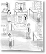 At A Science Fair Metal Print by Paul Noth
