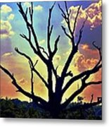 At Life's End There Is Light Metal Print