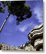 At Parc Guell In Barcelona - Spain Metal Print