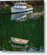 At Rest In The Cove Metal Print