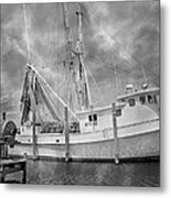 At Rest In The Harbor Metal Print