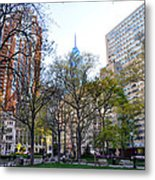 At Rittenhouse Square Metal Print