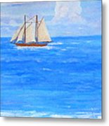At Sea Metal Print