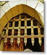 At The Castle Gate Metal Print