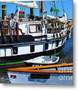At The Docks Metal Print