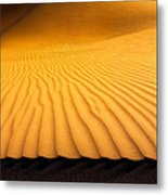 At The Edge Metal Print