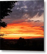 At The End Of The Day ... Metal Print