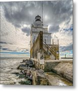 At The End Of The Earth Metal Print