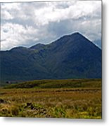 At The Foot Of The Mountain Metal Print