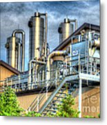 At The Landfill Metal Print