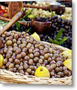 At The Market Metal Print
