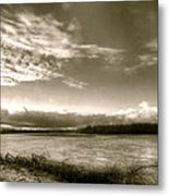 At The Pinckney Bend Metal Print