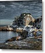 At The Point Metal Print