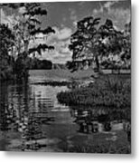 At The River Metal Print