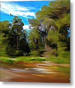 At The River's Edge Metal Print