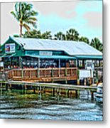 At The Riverside On Mothers Day 2112 Metal Print