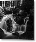 at the upper Bodefall, Harz Metal Print