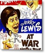 At War With The Army, Us Poster Metal Print