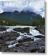 Athabasca Falls #3 Metal Print