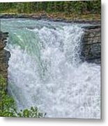 Athabasca Falls Study V Close-up Metal Print