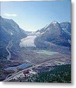 1m3735-athabasca Glacier Metal Print
