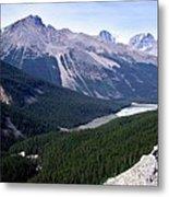Athabasca River Valley Metal Print