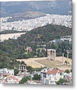Athens 3 Metal Print