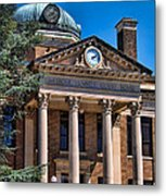 Athens Alabama Historical Courthouse Metal Print