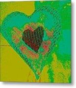 Athlone Heart Metal Print by Dorothy Rafferty