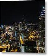 Atlanta City Lights Metal Print