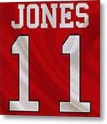 Atlanta Falcons Julio Jones Metal Print