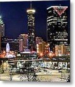 Atlanta Panoramic View Metal Print