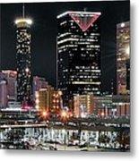 Atlanta Wide Angle Metal Print