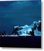 Atlantic After Dark Metal Print