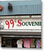 Atlantic City New Jersey - Souvenir Store Metal Print