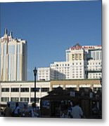 Atlantic City - Trump Taj Mahal Casino - 01133 Metal Print