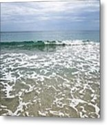 Atlantic Ocean Surf Metal Print
