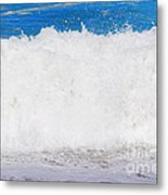 Atlantic Ocean Wave Metal Print