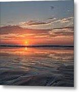 Atlantic Summer Sunrise Metal Print