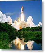 Atlantis Reflection Metal Print
