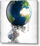 Atlas 3000 Metal Print by Frederico Borges