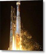Atlas V Rocket Taking Off Metal Print