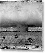 Atomic Bomb Test Metal Print